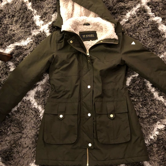 quality first price superior materials Guess Los Angeles Winter Coat
